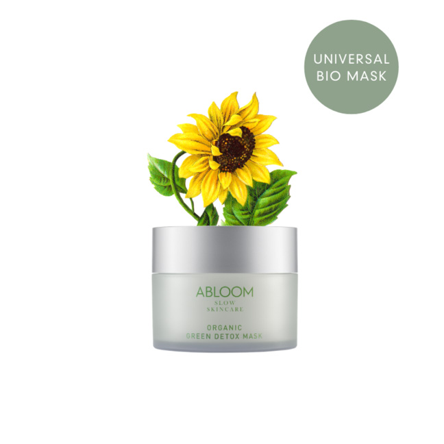 Abloom Organic Green Detox Mask 100ml