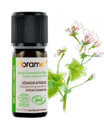 Florame African Geranium ORG Essential Oil, 5ml