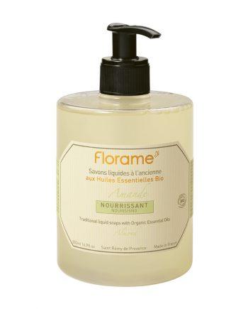 Florame Almond Liquid Soap 500ml