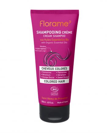 Florame Coloured Hair Cream Shampoo 200ml