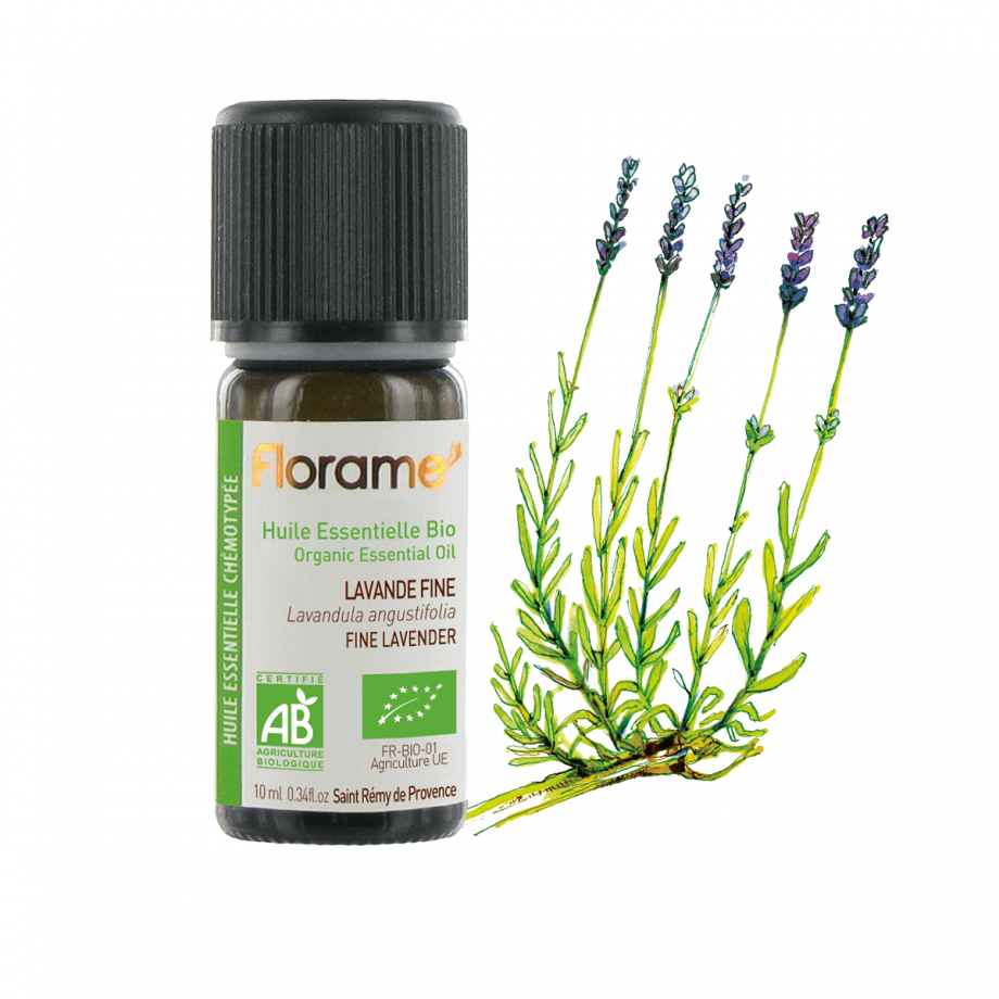 Florame Fine Lavender ORG Essential Oil 10ml