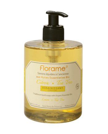 Florame Lemon Tea Tree Liquid Soap 500ml