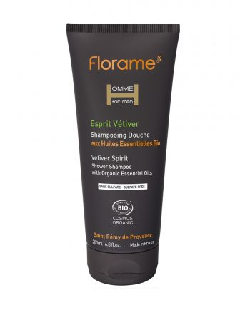 Florame Vetiver Spirit Shower Shampoo 200ml