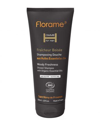 Florame Woody Freshness Shower Shampoo 200ml
