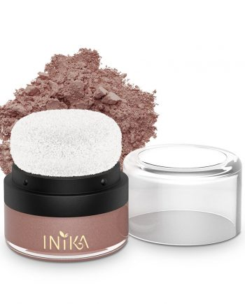 INIKA Mineral Puff Pot 3g Rosy Glow With Product.jpg