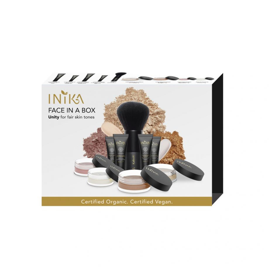 INIKA Packaging Face In A Box Unity