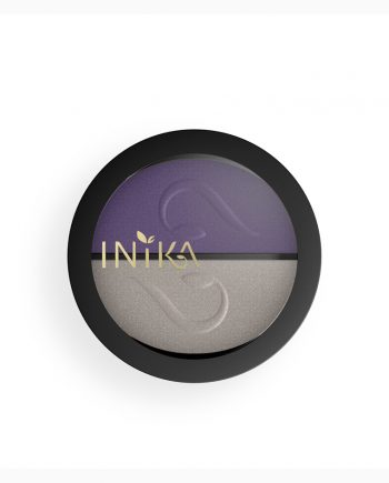 INIKA Pressed Mineral Eye Shadow Duo 8g Purple Platinum Closed