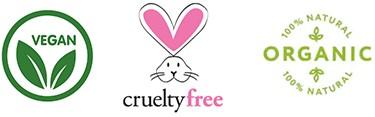 vegan cruelty free organic