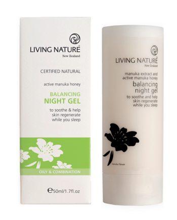 Living Nature Balancing Night Gel 50ml