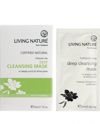 Living Nature Deep Cleansing Mask 10 x 5ml