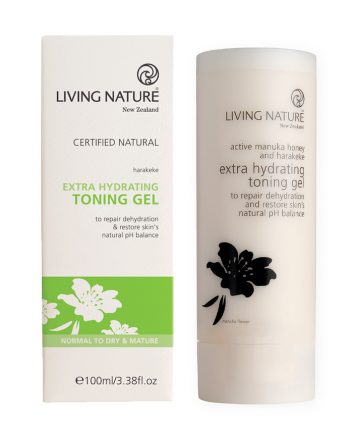 Living Nature Extra Hydrating Toning Gel 100ml