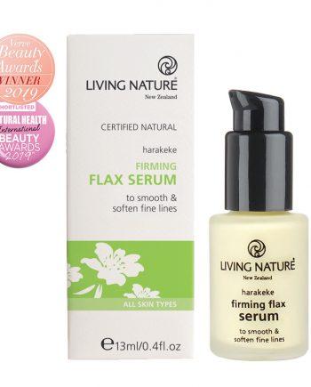 Living Nature Firming Flax Serum 15ml