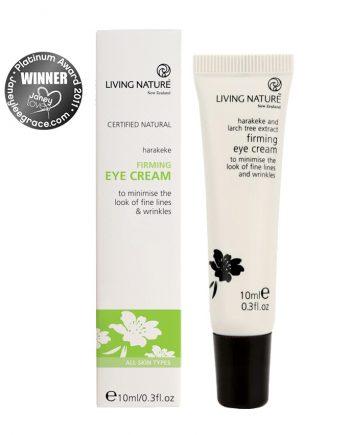 Living Nature Organic Firming Eye Cream 10ml