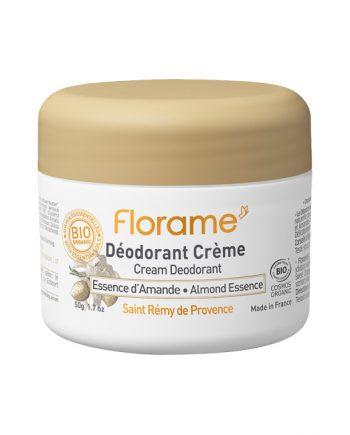 Florame Cream Deodorant Almond Essence 50g