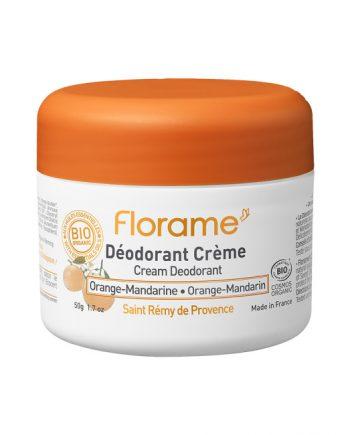 Florame Cream Deodorant Orange Mandarin 50g