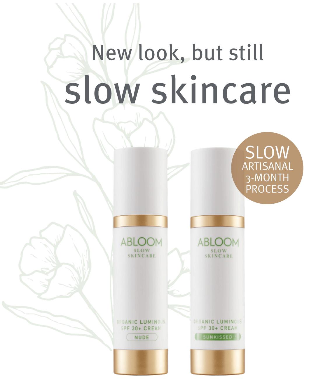 Abloom POP on Slow Skincare
